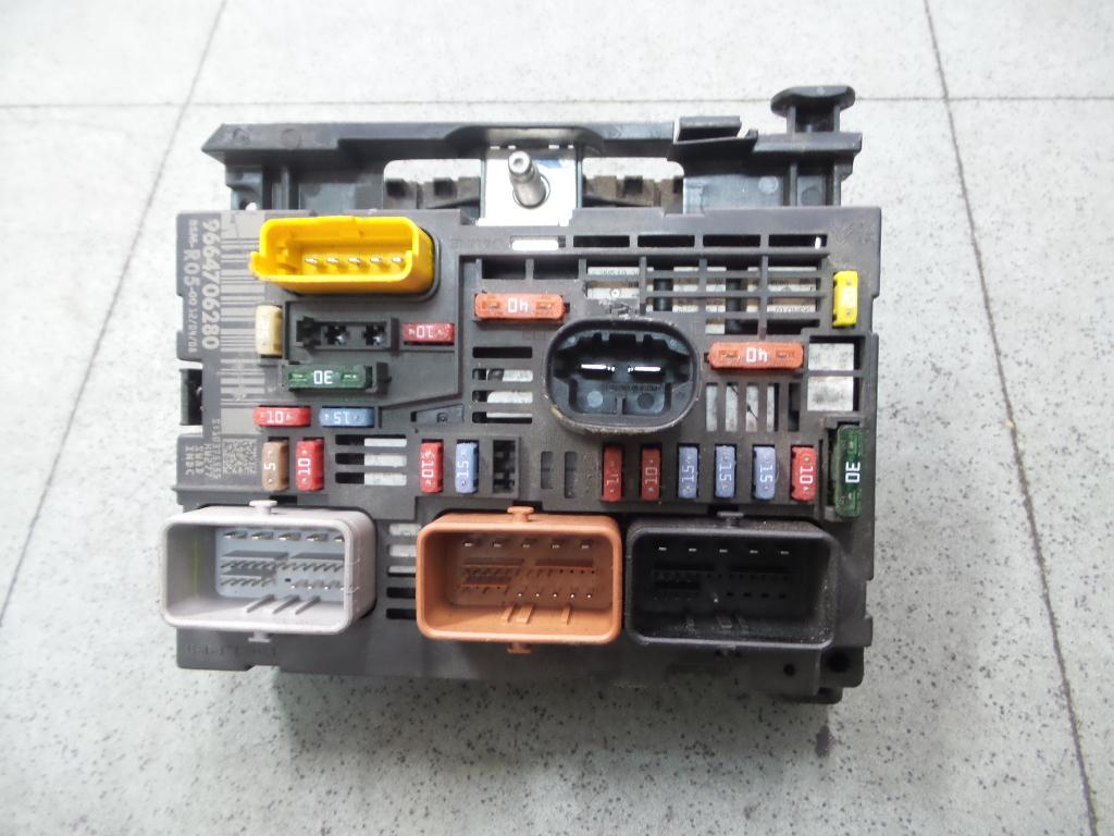 peugeot 308 fuse box t7 09/07-14 bsm 9664706280 | ebay